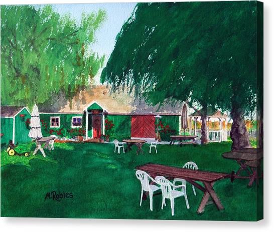Retzlaff Winery Canvas Print