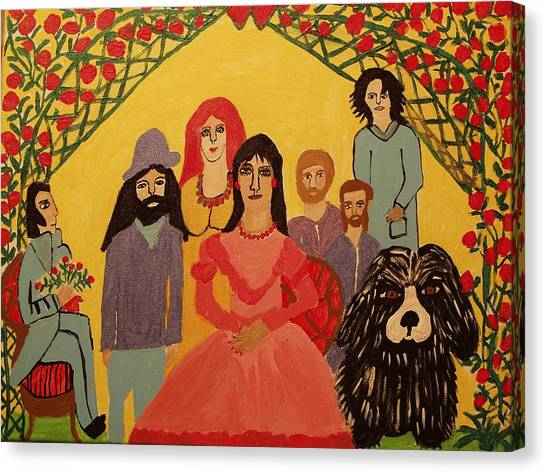 Reunion Canvas Print by Betty J Roberts