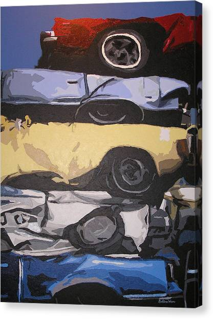 Reunited Canvas Print by Ricklene Wren