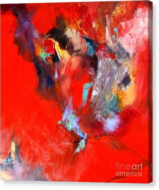 Canvas Print - Revealing Red by Jane Ferguson