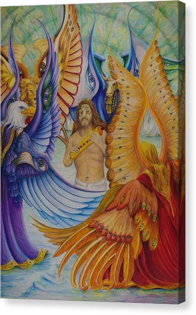 Revelation Five Canvas Print