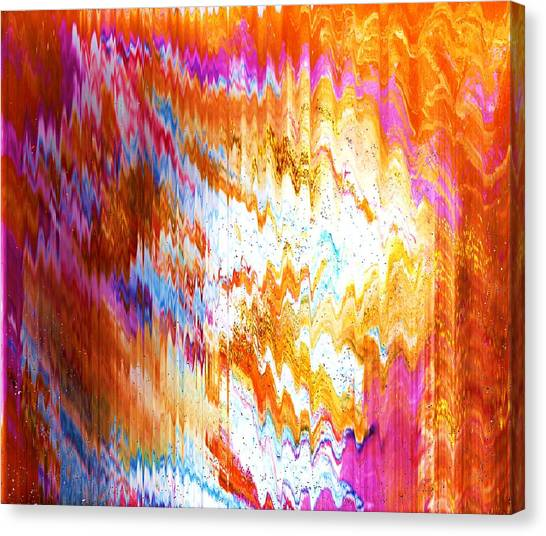 Canvas Print - Reverberations Of Magical Mysteries by Anne-elizabeth Whiteway