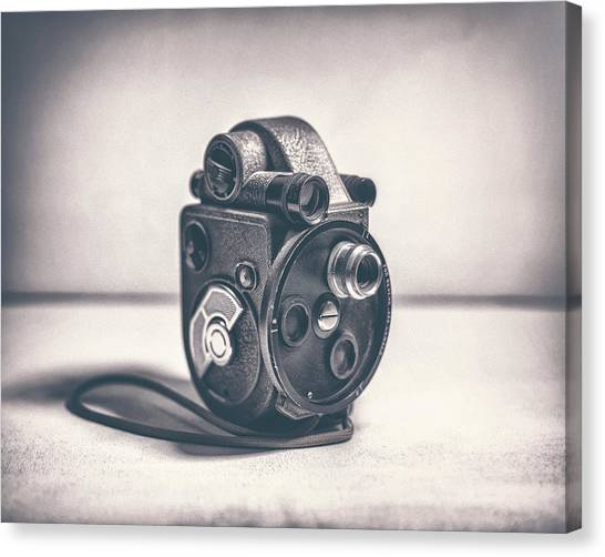 Vintage Camera Canvas Print - Revere Eight - Model 99 by Scott Norris