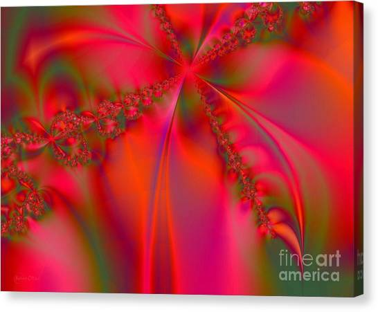 Rhapsody In Red Canvas Print