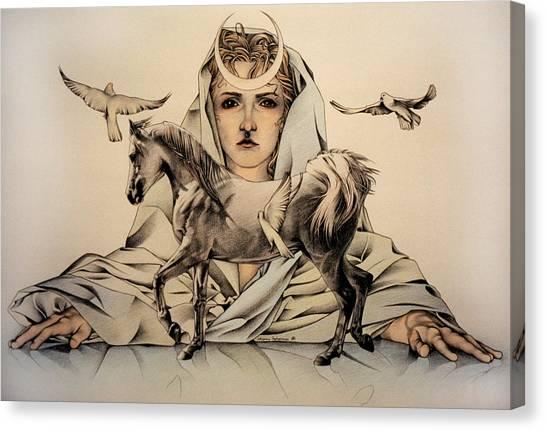 Rhiannon Canvas Print