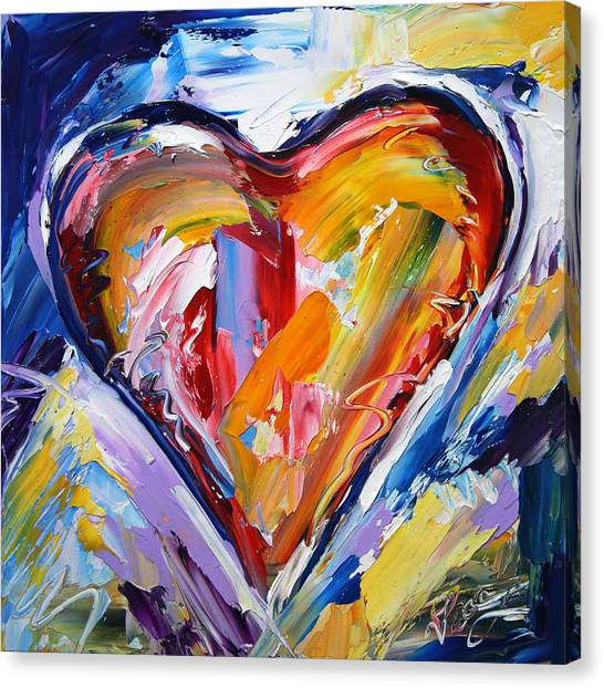 Canvas Print - Rhythm Of Love  by Laurie Pace