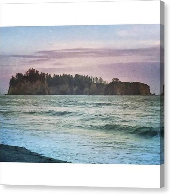 Washington Canvas Print - Rialto Beach Wa #pnw #washington by Joan McCool