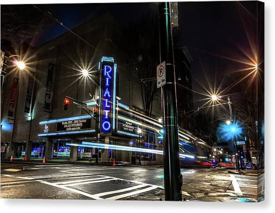 Rialto Theater Canvas Print
