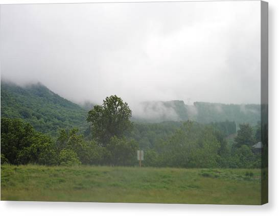 Riasing Mist Canvas Print by Christopher Rohleder
