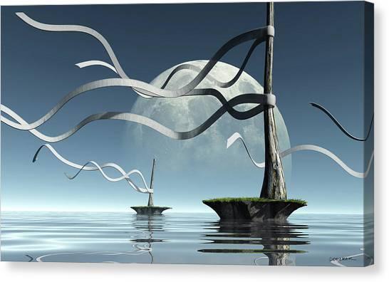 Ribbon Island Canvas Print