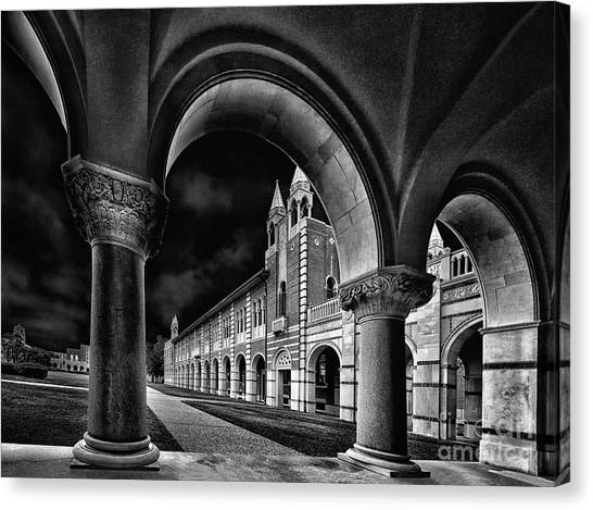 Byzantine Canvas Print - Rice Arches by Norman Gabitzsch