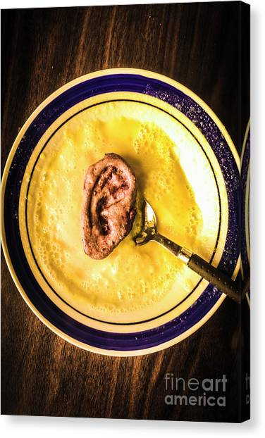 Meat Canvas Print - Rich And Creamy, Just The Way I Like It by Jorgo Photography - Wall Art Gallery