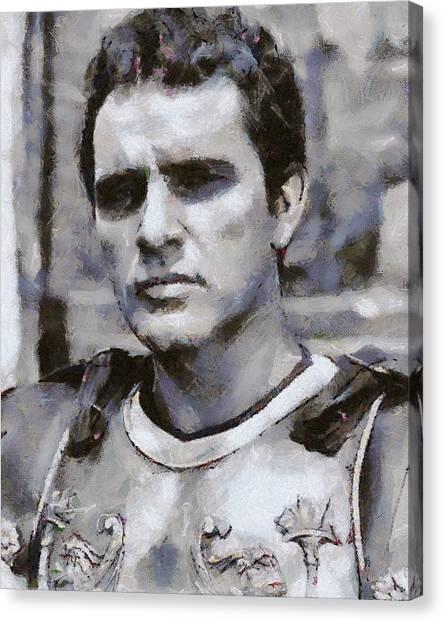 Burton Canvas Print - Richard Burton Actor by Esoterica Art Agency