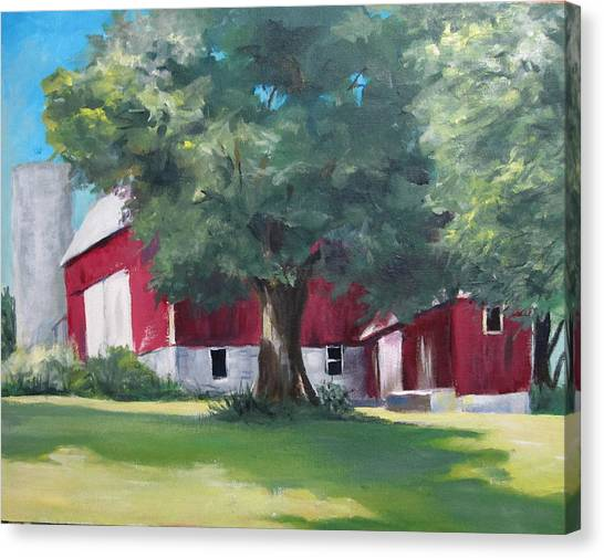 Rich's Barn Canvas Print