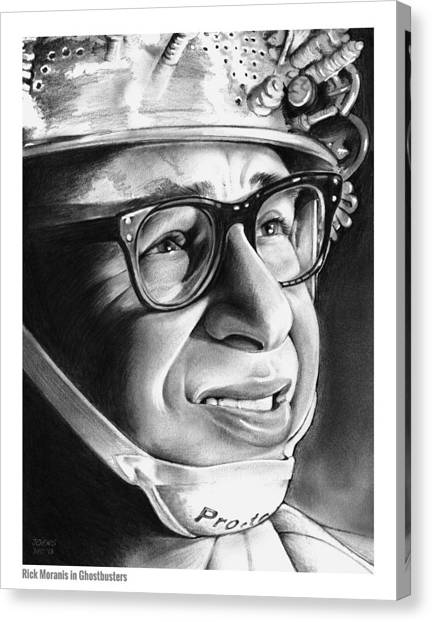 Heaven Canvas Print - Rick Moranis by Greg Joens