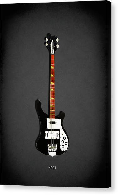 Guitar Canvas Print - Rickenbacker 4001 1979 by Mark Rogan
