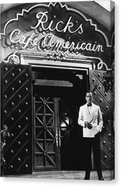 Ricks Cafe Americain Casablanca 1942 Canvas Print