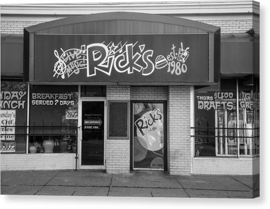 Rick's Cafe East Lansing  Canvas Print