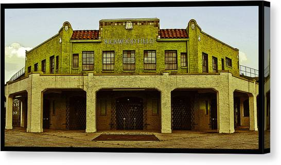 Rickwood Poster Canvas Print