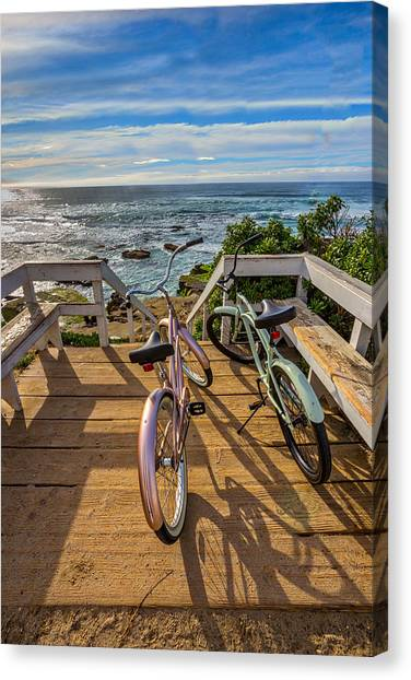Ride With Me To The Beach Canvas Print