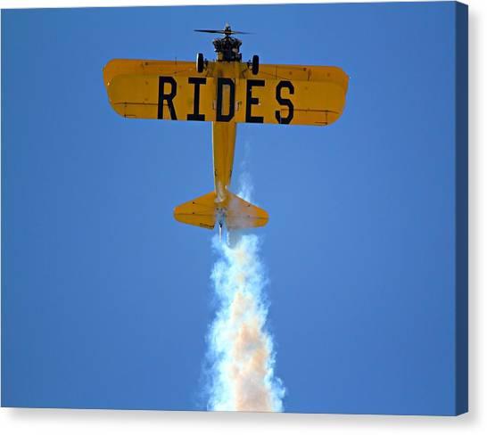 Rides Canvas Print