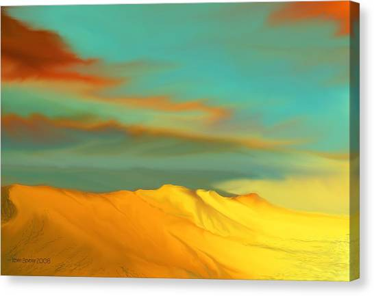 Ridge Canvas Print
