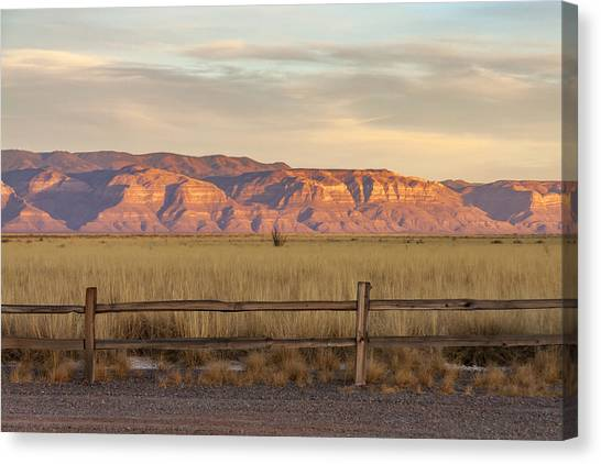 Ridge Outside Alamogordo Canvas Print