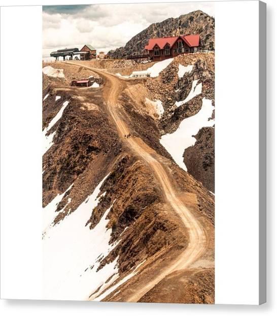 Scotty Canvas Print - Ridgeline Hike - Kicking Horse by Scotty Brown