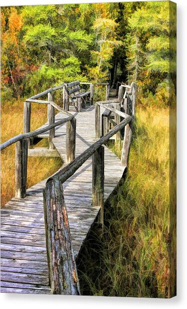 Ridges Sanctuary Crossing Canvas Print