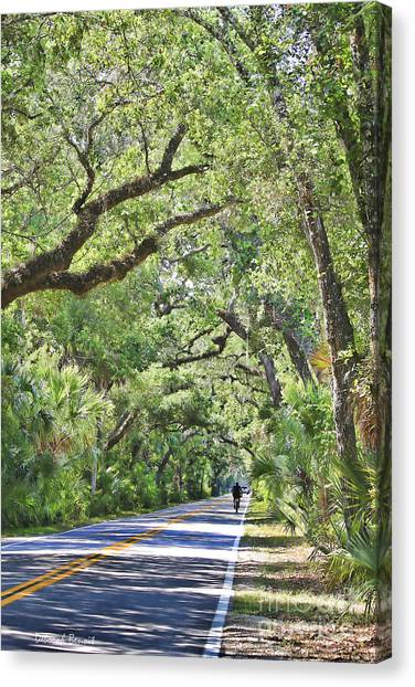 Riding The Ormond Loop Canvas Print