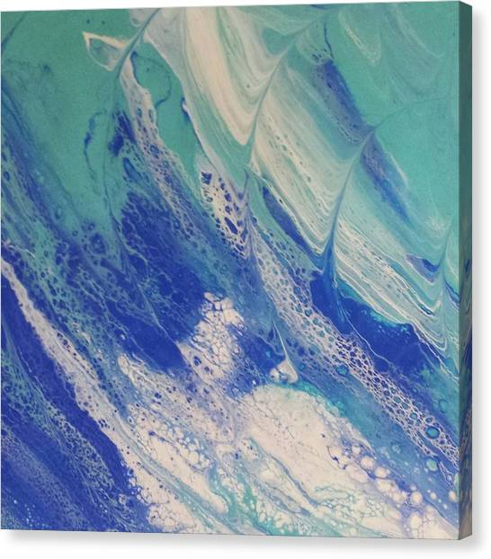 Riding The Wave Canvas Print