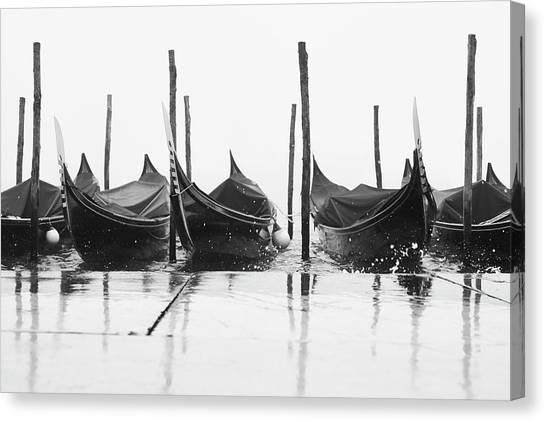 Missiaja Canvas Print - Riflessi Di Gondole 03776 by Marco Missiaja