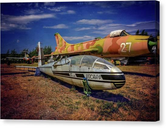 Cold War Canvas Print - Riga Aviation Museum by Carol Japp