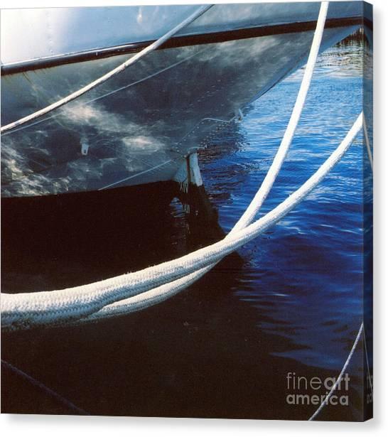 Rigging Canvas Print by Andrea Simon
