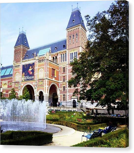 Rijksmuseum Canvas Print - Rijksmuseum Amstedam ... #rijksmuseum by Maritha Graph