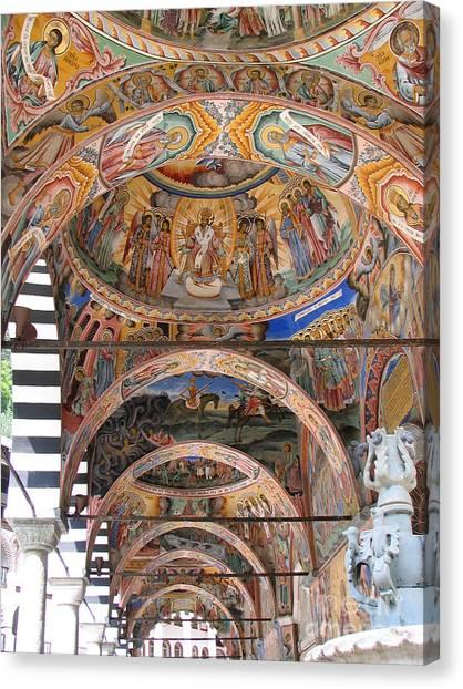 Rila Monastery In Bulgaria Canvas Print
