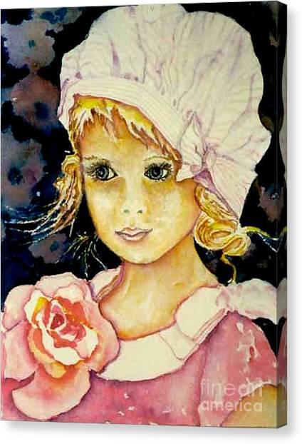 Riley Canvas Print by Norma Boeckler
