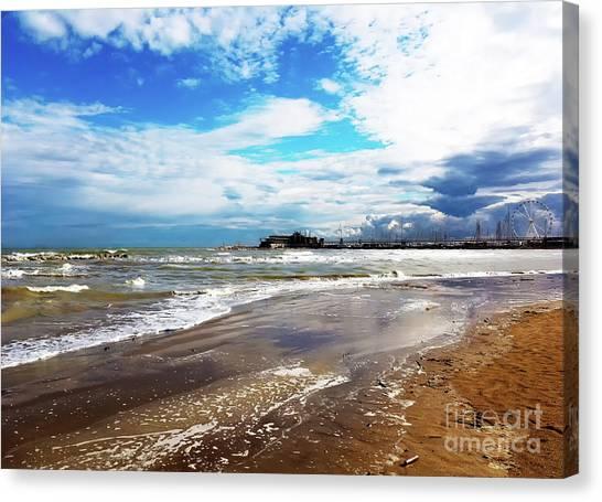Rimini After The Storm Canvas Print