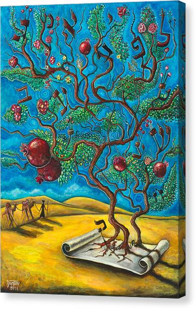 Rimon Ben Torah Canvas Print