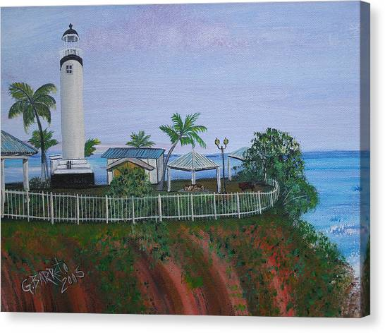 Rincon's Lighthouse Canvas Print