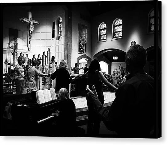 Priests Canvas Print - Ring Of Faith by Frank J Casella