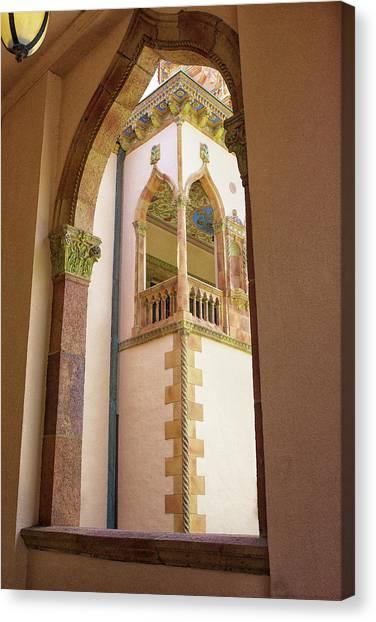 Ringling Window Canvas Print