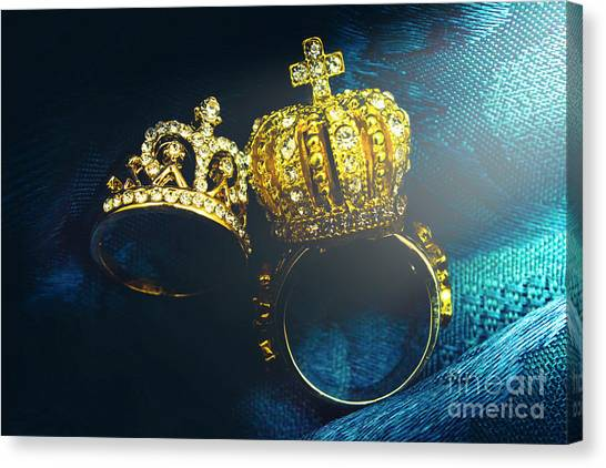 The Crown Canvas Print - Rings Of Nobility by Jorgo Photography - Wall Art Gallery