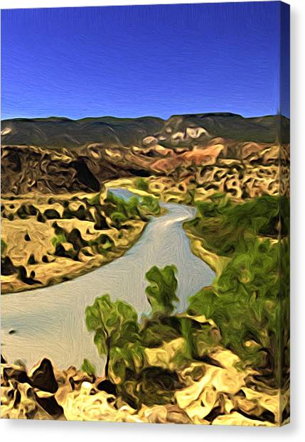 Rio Chama River Canvas Print