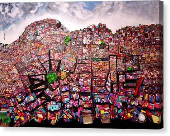 Rio Favelas Canvas Print
