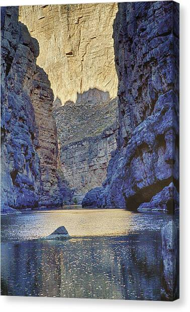 Rio Grand, Santa Elena Canyon Texas 2 Canvas Print
