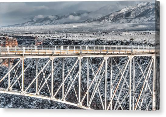 Rio Grande Gorge Bridge #001 Canvas Print