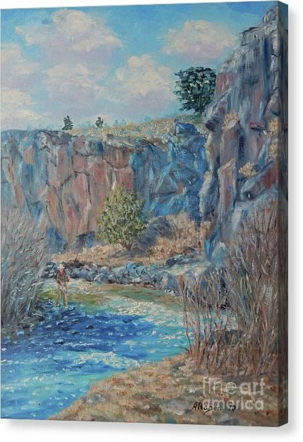 Rio Hondo Canvas Print