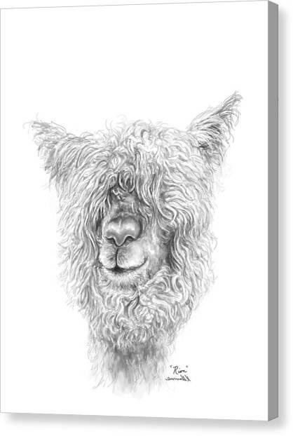 Canvas Print - Rion by K Llamas