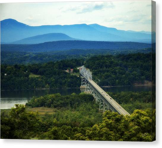 Rip Van Winkle Bridge Canvas Print